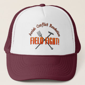 Amish Conflict Resolution Trucker Hat