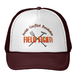 Amish Conflict Resolution Trucker Hat