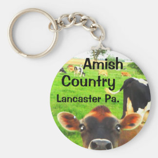 Amish Country Cows! Lancaster Keychain