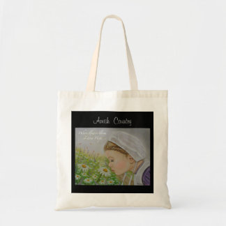 Amish Country Inspirational Quote Tote Bag