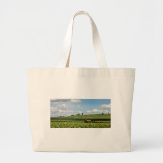 Amish Country Large Tote Bag