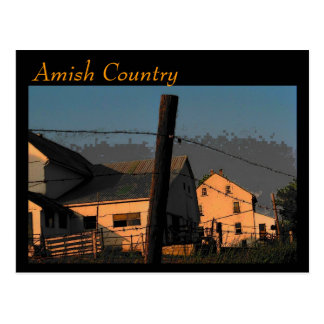 Amish Country (Thunder) Postcard