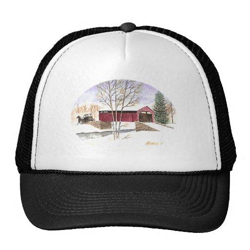 Amish Covered Bridge Hats