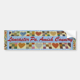 Amish Gift, Lancaster County Bumper Sticker