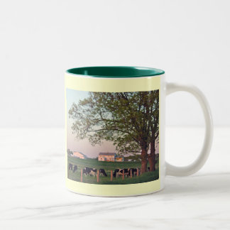 Amish Homestead Two-Tone Coffee Mug