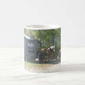 Amish Horse Coffee Mug