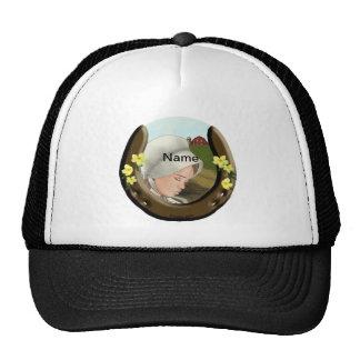 Amish Horseshoe Girl Trucker Hat