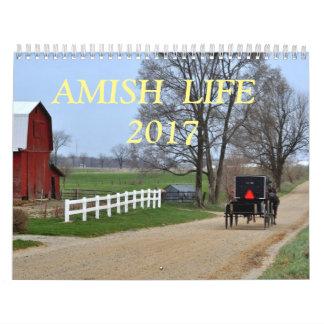AMISH LIFE 2017 CALENDAR