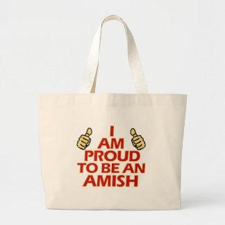 AMISH religious designs Large Tote Bag