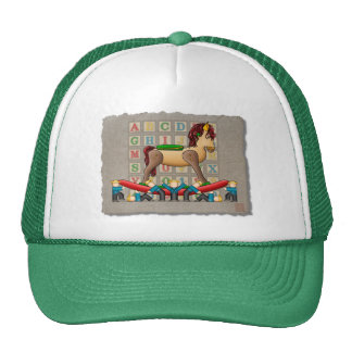 Amish Rocking Horse Trucker Hat
