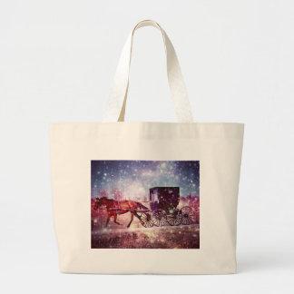 Amish Space Large Tote Bag