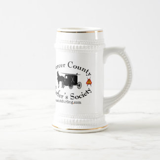 Amish Surfing and skiing Society beer stein