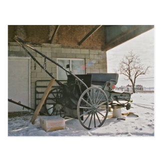 Amish Three Wheeler-Postcard Postcard