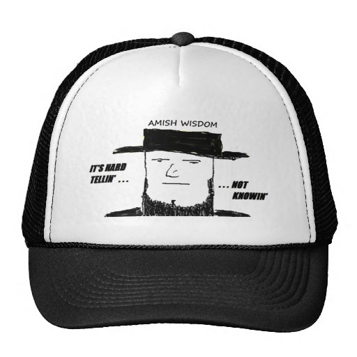 AMISH WISDOM.png Hats