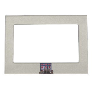Amish Women Quilting Magnetic Picture Frame