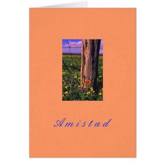 """""""Amistad"""" Card"""