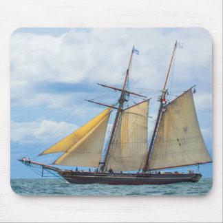 Amistad Under Sail Mouse Pad