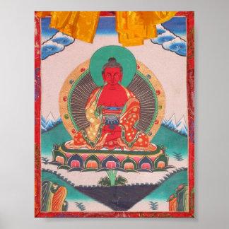 Amitabha Buddha Poster