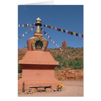 Amitabha Stupa Sedona Card
