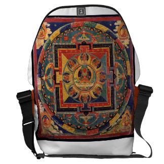 Amitayus Mandala, Tibetan School, 19th century Messenger Bag