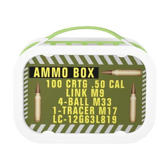 Ammo Box Lunch Box