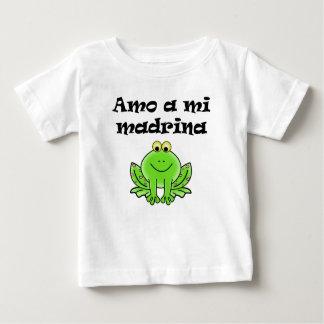 Amo A Mi Madrina Baby T-Shirt