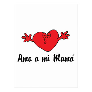 Amo a mi Mama Postcard