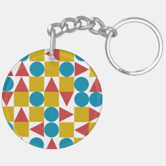 Amo / Circle (double-sided) Keychain