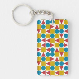 Amo / Rectangle (double-sided) Keychain
