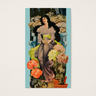 Among the Chrysanthemums Business Card