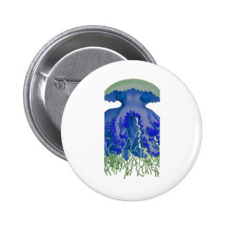 Among the Clouds 2 Inch Round Button