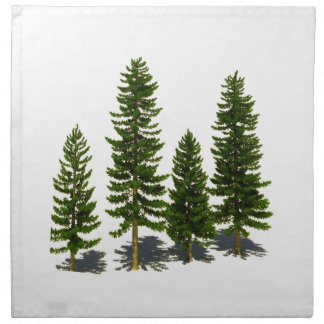 Among the Evergreens Napkin