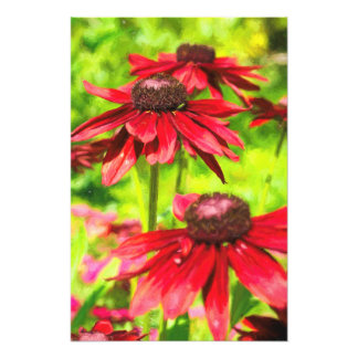 Among The Flowers Photo Print