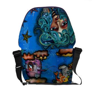 Among the stars courier bag