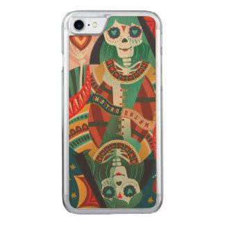 Amor Eterno Reya Slim Maple iPhone 6 Carved iPhone 8/7 Case