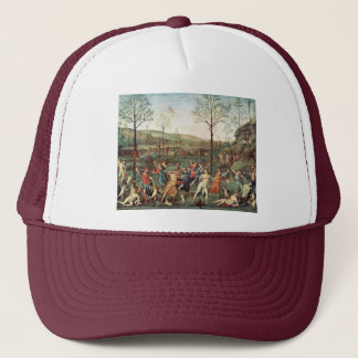 Amor Fight Against Chastity By Perugino Pietro Trucker Hat