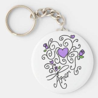 Amor Keychain