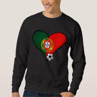 Amor, Portugal e Futebol - O que mais vôce quer ? Sweatshirt