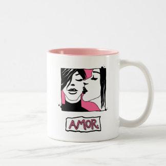 Amor. Two-Tone Mug