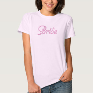 Amore Bride Pink Bridal Party T-Shirt