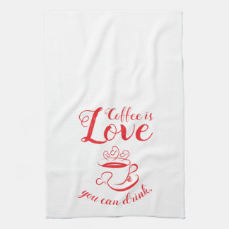 Amore Coffee Kitchen Towel