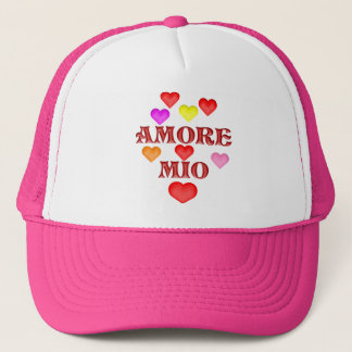 Amore million trucker hat