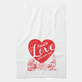 Amore Solid Kitchen Towel
