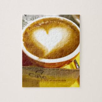 Amoreccino I heart Italian Coffee Jigsaw Puzzle