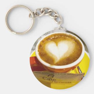 Amoreccino I heart Italian Coffee Keychain