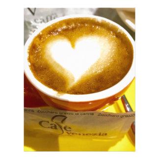 Amoreccino I heart Italian Coffee Letterhead
