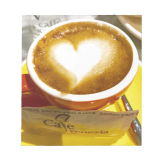 Amoreccino I heart Italian Coffee Notepad