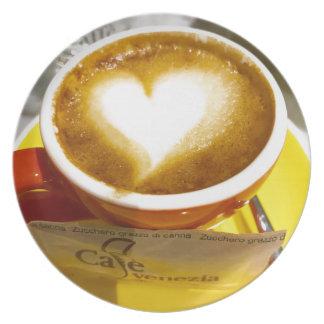 Amoreccino I heart Italian Coffee Plate