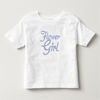AmoreFlowerGirlBlueDrkT Toddler T-shirt