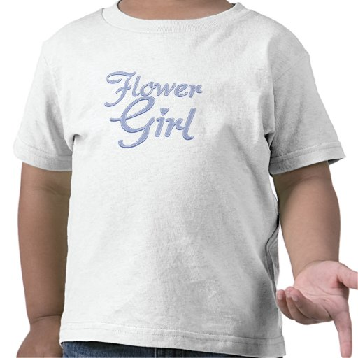 AmoreFlowerGirlBlueDrkT T Shirt